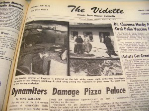 Explosion in the Vidette
