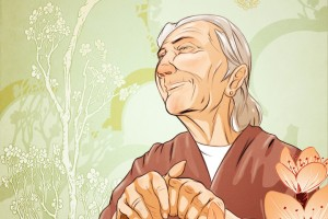 Elder care illustration 2