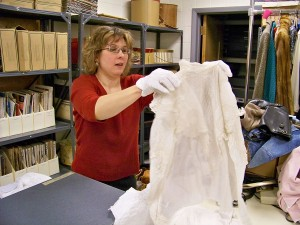 Costume collection's wedding dress