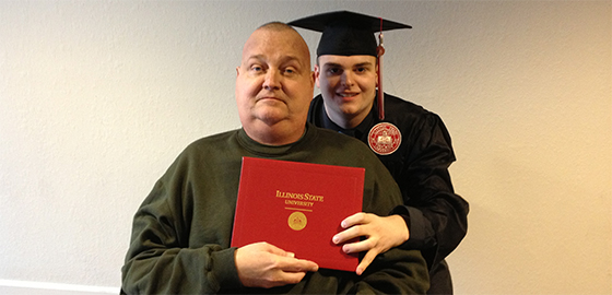 Illinois State rallies to make dying father's dream a reality