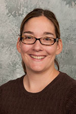 Assistant professor of deaf/hard of hearing Christina Borders