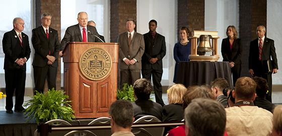 Governor Quinn announces $54 million for new Fine Arts Complex