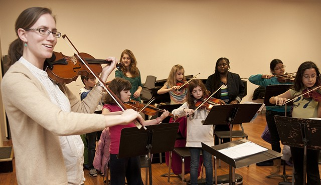 Beloved String Project wins national acclaim