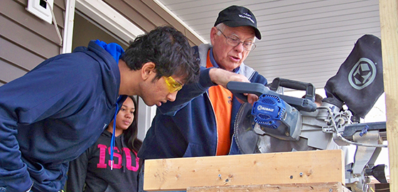 Student volunteers build lasting legacy at ISU Habitat chapter