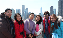 SWU students visit Chicago sites