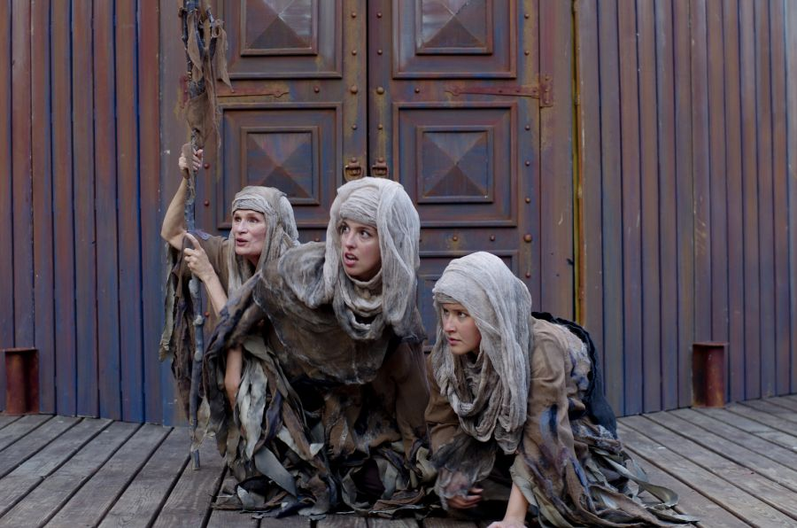 macbeth werid sisters instigators of macbeths actions English 3201 macbeth act one notes scene 1: • three witches (also known as the weird sisters) plan to meet macbeth after the battle is done.
