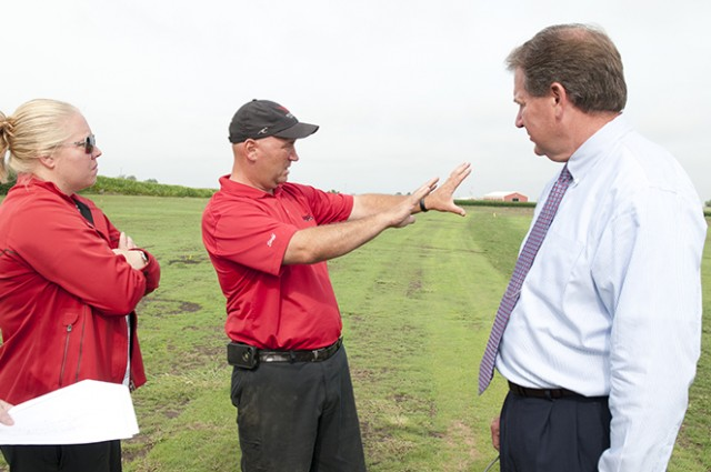 9-hole tour of Illinois State's new golf training center