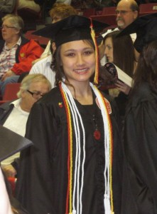 Nena Woo at 2011 Commencement