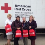The faculty and students visited the American Red Cross