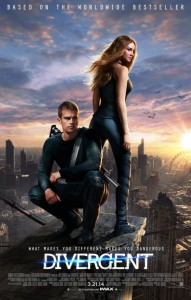 "The ""Divergent"" movie poster."