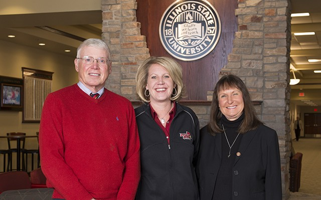 For these Redbirds, service award runs in the family