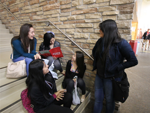 During the spring semester, the Chicago Teacher Education Pipeline helped organize bus trips to Illinois State's campus for students of 8 Chicago Public Schools across the city.