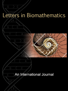 Letters in Biomathematics