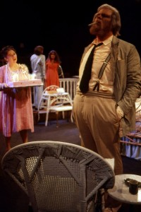"Phil Shaw as Big Daddy in ""Cat on a Hot Tin Roof."""
