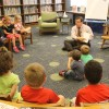 President Dietz shares his love of reading with Metcalf students article thumbnail