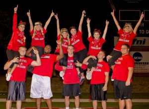 Students compete at Homecoming's Redbird Rumble