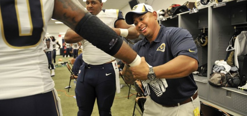 After ISU, strength coach finds his way to NFL's Rams