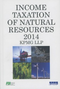 Income Taxation of Natural Resources cover