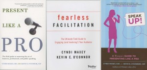 Cyndi Maxey and Kevin O'Connor's books