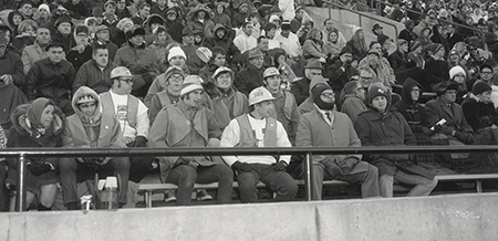 Fans at Hancock in 1969