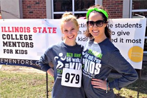 Last year's 5K fundraiser helped the student organization to continue its work in serving as mentors for local youths in Bloominton-Normal.
