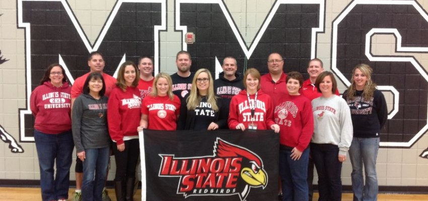 16 Illinois State alumni working in one school