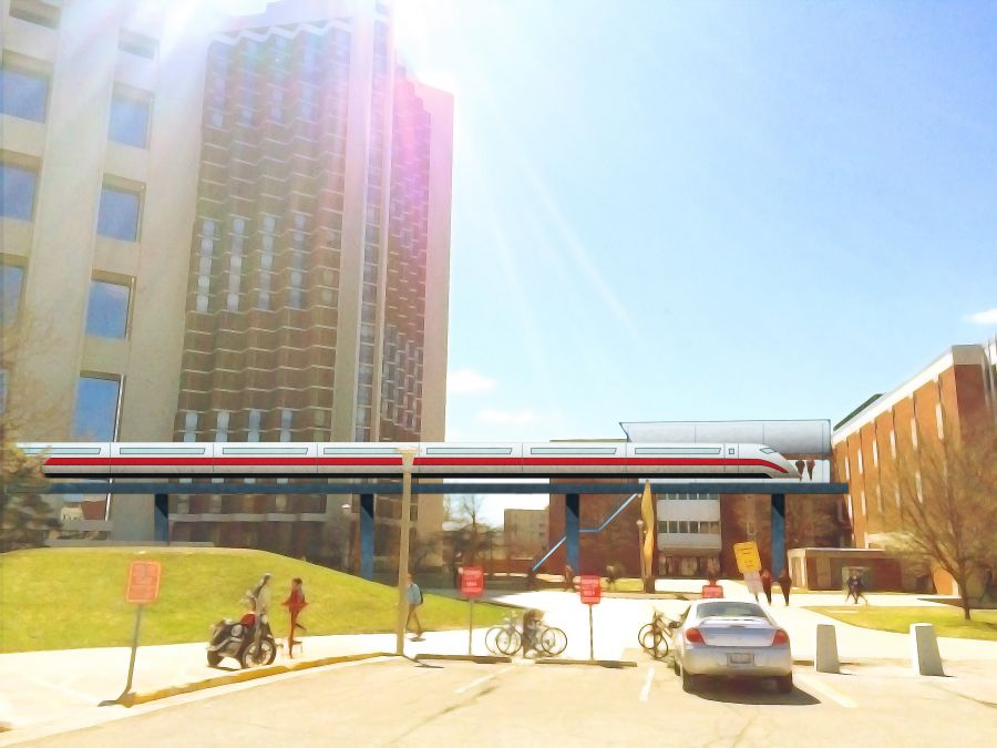 High speed monorail coming to illinois state campus for Watterson dining
