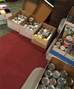 The conference garnered 335 donation items for local nonprofits and schools.