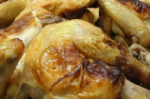 Apple Cider Brined Roasted Chicken