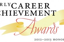 Early Career Achievement Award logo