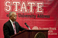 Al Bowman delivers the 2012 State of the University