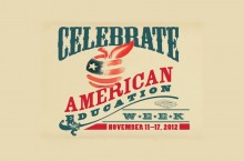 American Education Week logo