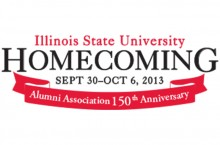 Illinois State Homecoming logo 2013