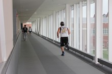 Student Fitness Center and McCormick Hall track
