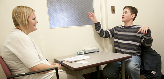 At crossroads, Speech and Hearing Clinic looks to grow