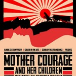 Poster for Mother Courage, College of Fine Arts