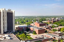 Campus panoramic view