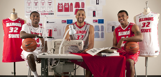 Redbird basketball players stand out in apparel program
