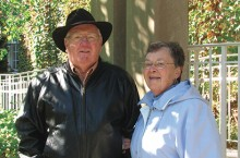 Ruth Herold and Merle Lemon
