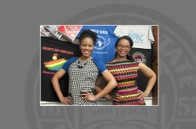 Illinois State University. Diversity Specialists for the Dean of Students Office Ashley Taylor and Brittany Stokes