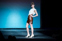 AMDA Fashion Show on the runway