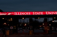 ISU sign at BSC