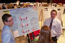 Team at Undergraduate Research Symposium