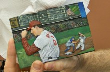 Postcard Art Stan Musial