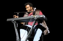 Craig Robinson at piano