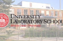 University Laboratory School seal and Thomas Metcal School