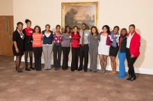 ISUBCA's 2012-2013 scholarship recipients at the 2012 Scholarship Brunch