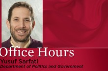 Yusuf Sarfati Office Hours