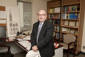 David Cleeton in his office