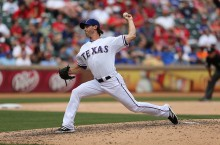 Neal Cotts Texas Rangers